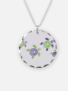 Autism Awareness Turtle Necklace