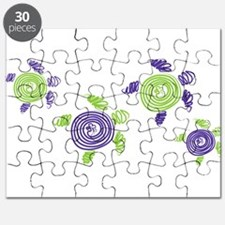 Autism Awareness Turtle Puzzle