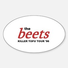 the beets Sticker (Oval)