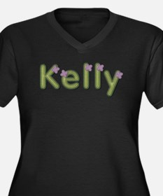 Kelly Spring Green Plus Size T-Shirt