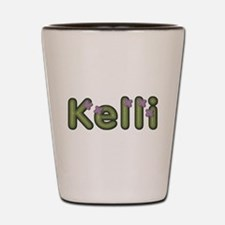 Kelli Spring Green Shot Glass