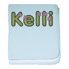 Kelli Spring Green baby blanket