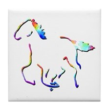Wild Mustangs Picture Tile Coaster