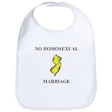 No Homosexual Marriage Bib