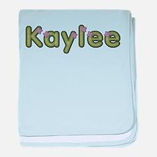 Kaylee Spring Green baby blanket