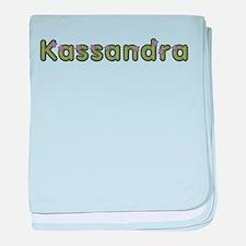 Kassandra Spring Green baby blanket