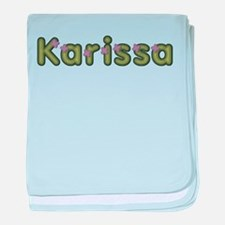 Karissa Spring Green baby blanket