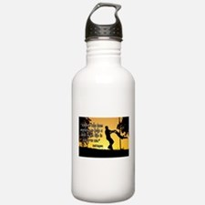 Mr. Rogers Child Hero Quote Water Bottle