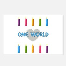 One World Postcards (Package of 8)