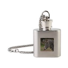 Zebra Flask Necklace