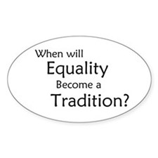 Traditional Equality Decal