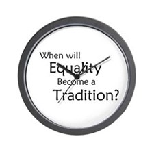 Traditional Equality Wall Clock