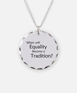 Traditional Equality Necklace