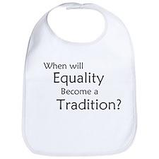 Traditional Equality Bib