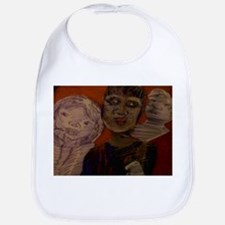 The fortune teller with her son and daughter Bib