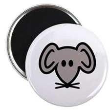 """Mouse head face 2.25"""" Magnet (100 pack)"""