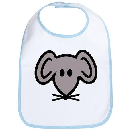 Mouse head face Bib