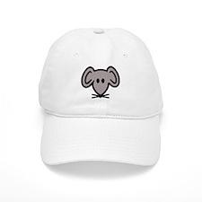 Mouse head face Baseball Cap