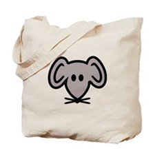 Mouse head face Tote Bag