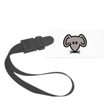 Mouse head face Luggage Tag