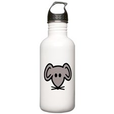 Mouse head face Water Bottle