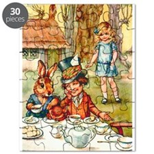 Mad Hatter's Tea Party Puzzle