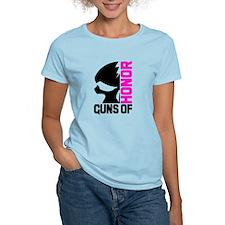 Half Skull Pink T-Shirt