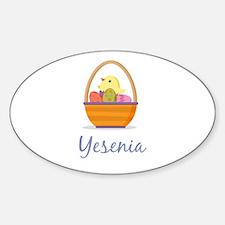 Easter Basket Yesenia Decal