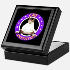 CAT POTATO Keepsake Box