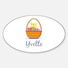 Easter Basket Yvette Decal
