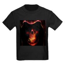 Glowing red grim reaper T-Shirt