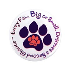 "Every Paw 3.5"" Button"