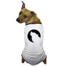 Wolf moon night Dog T-Shirt