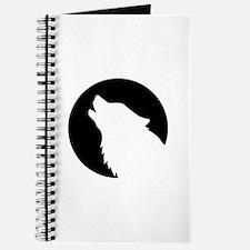 Wolf moon night Journal