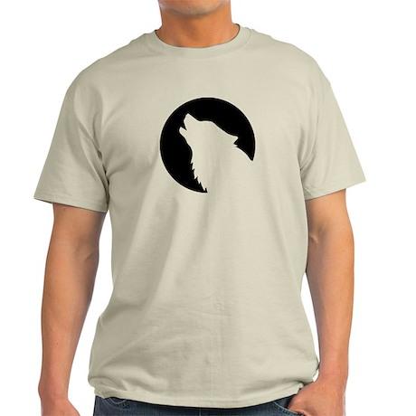 Wolf moon night Light T-Shirt