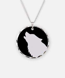 Wolf moon night Necklace