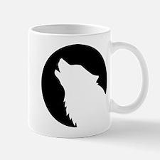 Wolf moon night Mug