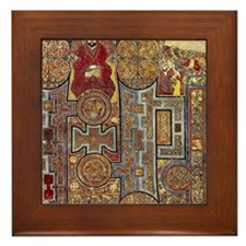 Book of Kells Framed Tile