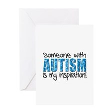 Someone with Autism is my inspiration! Greeting Ca