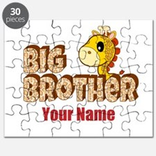Giraffe Big Brother Personalized with YOUR NAME Pu