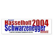 Hasselhoff/Schwarzenegger 2004 Bumper St