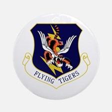 Flying Tigers Ornament (Round)