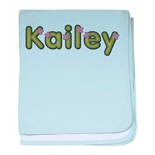 Kailey Spring Green baby blanket