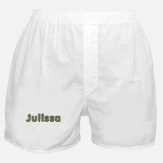 Julissa Spring Green Boxer Shorts
