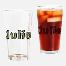 Julie Spring Green Drinking Glass