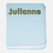Julianne Spring Green baby blanket
