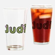 Judi Spring Green Drinking Glass