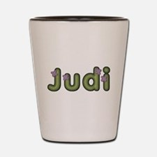 Judi Spring Green Shot Glass