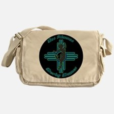 Los Alamos Derby Dames League logo Messenger Bag