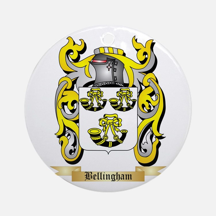Bellingham Ornament (Round)